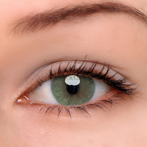 HD Green Colored Contact Lenses | Lamon Beauty