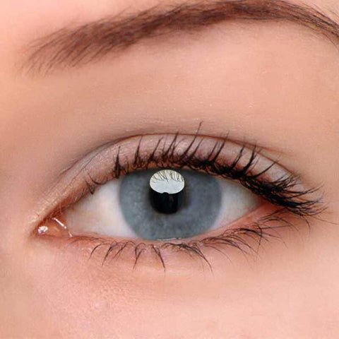 HD Grey Colored Contact Lenses | Lamon Beauty