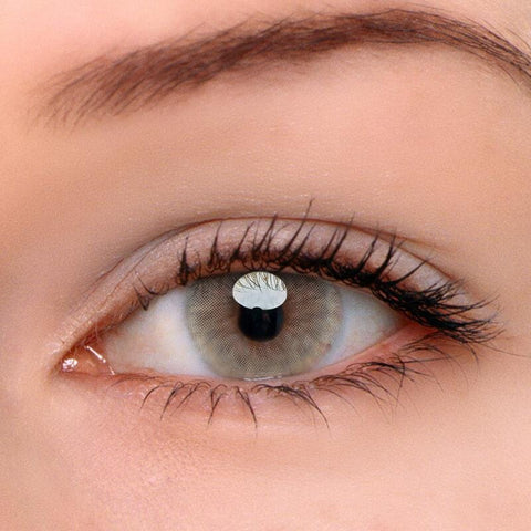 Ice Brown Colored Contact Lenses | Lamon Beauty