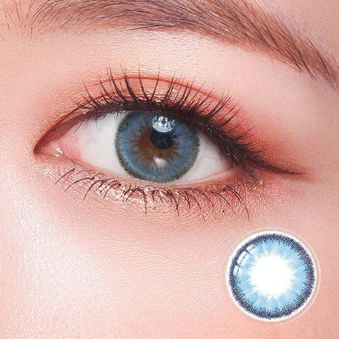 Quartz Baby Blue Color Contact Lenses | Lamon Beauty