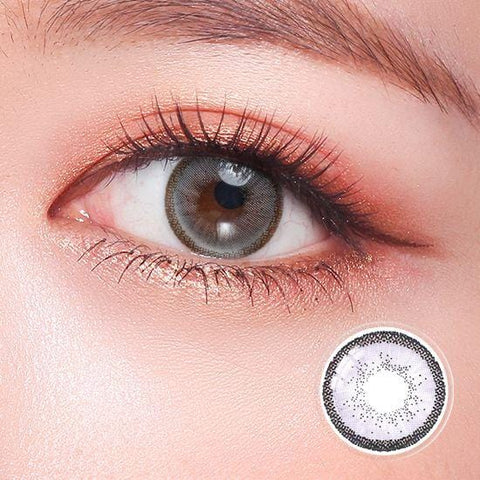 Quartz Crystal Gray Color Contact Lenses | Lamon Beauty