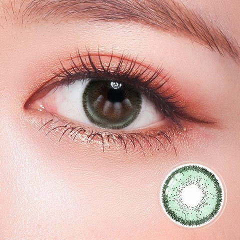 Quartz Sea Green Color Contact Lenses | Lamon Beauty