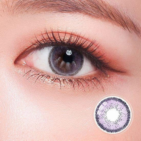Quartz Glam Violet Color Contact Lenses | Lamon Beauty