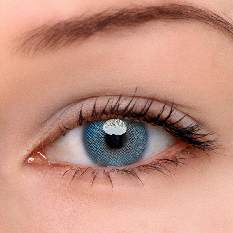 Queen Blue Colored Contact Lenses | Lamon Beauty