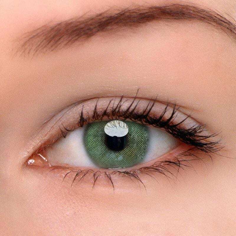 Queen Green Colored Contact Lenses | Lamon Beauty