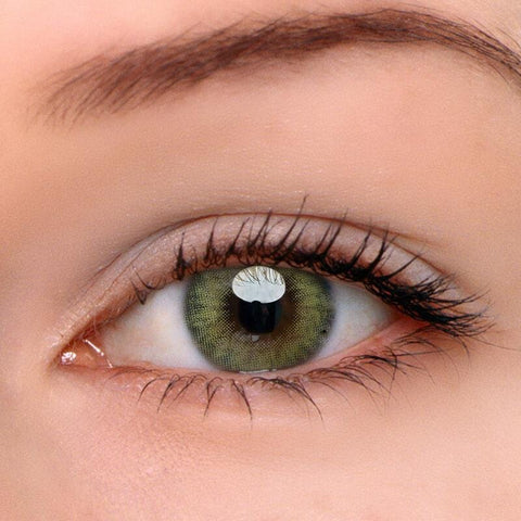Real Khaki Colored Contact Lenses | Lamon Beauty