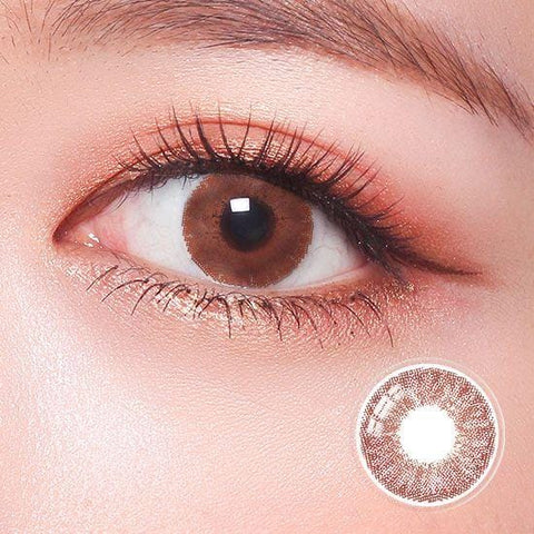 Revo Color Romantic Pure Choco Colored Contact Lenses | Lamon Beauty