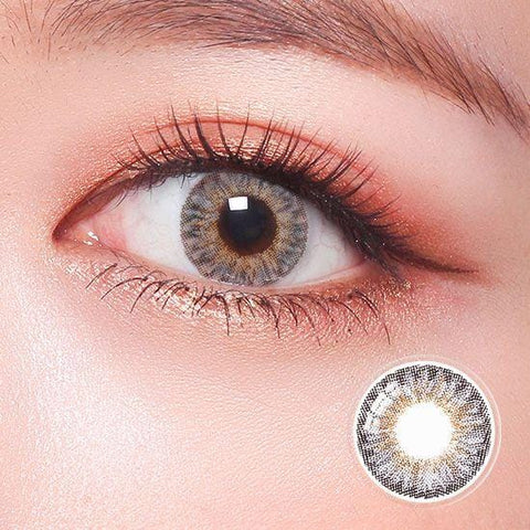 Revo Color Romantic Royal Gray Colored Contact Lenses | Lamon Beauty