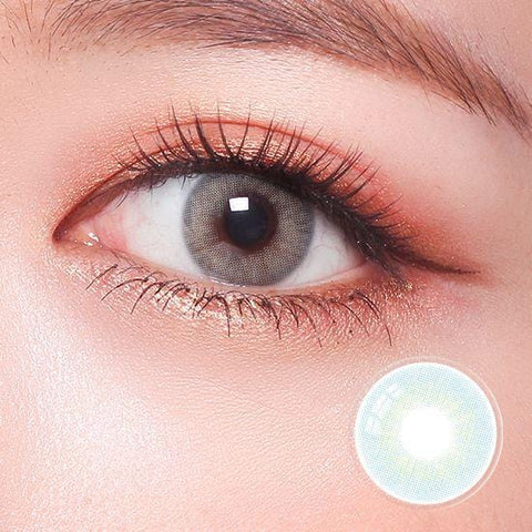 Signature Turquoise Blue Color Contact Lenses | Lamon Beauty