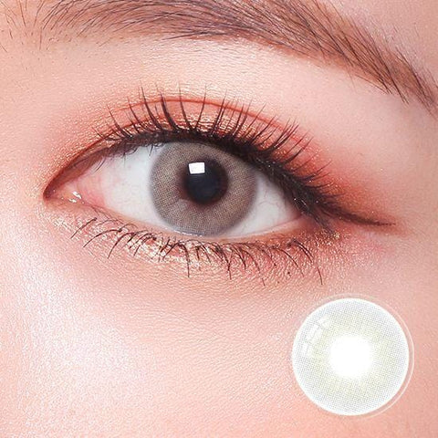 Signature Persian Gray Color Contact Lenses | Lamon Beauty