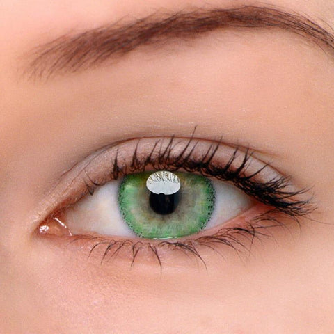 Ice Green Colored Contact Lenses | Lamon Beauty