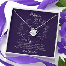 Load image into Gallery viewer, Mother's Day - Every Step - Love Knot Necklace Jewelry ShineOn Fulfillment