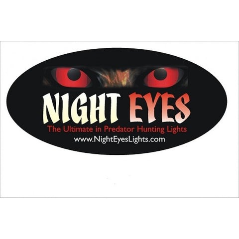 Night Eyes Window Decal