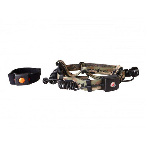 Wireless Remote Single Color Beam LED Headlamp Kit (HL09)