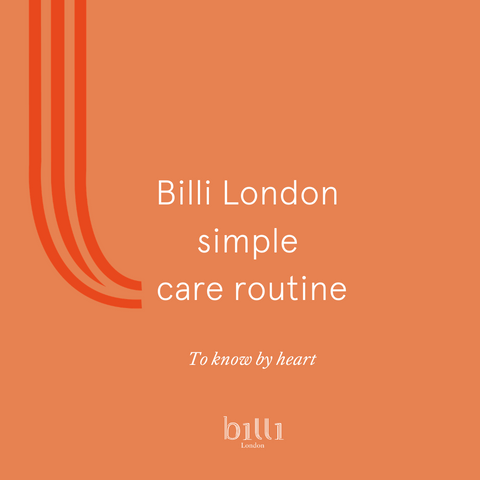Billi's simple care routine