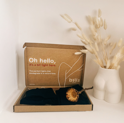 Billi London's Shipping Box Has Been Ecodesigned with Sustainable Materials