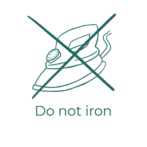 Do not iron your tights Billi London Care Guide