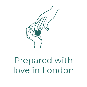 Prepared with love in London