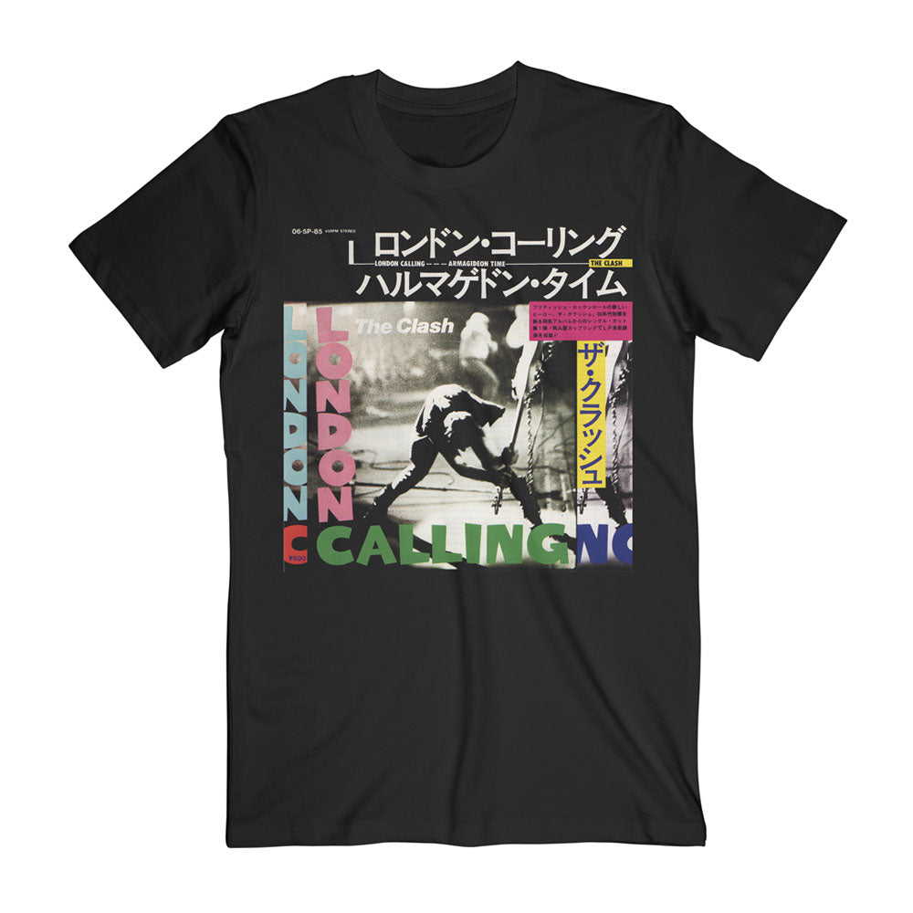 London Calling / Armagideon Times Japanese Black Tee