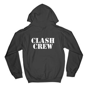 Clash Crew Logo Hooded Sweatshirt