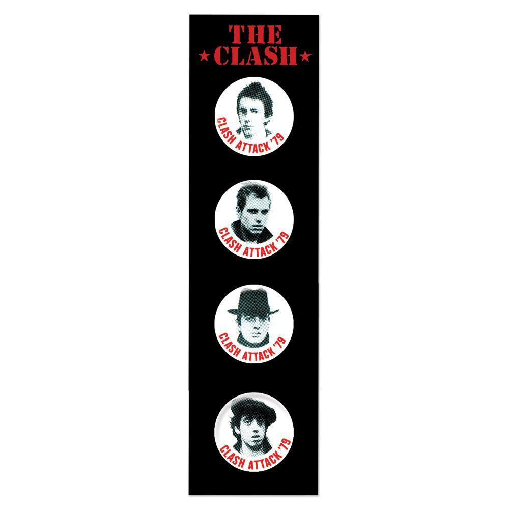 Badge Set 1-The Clash