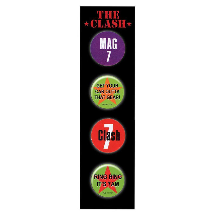 Badge Set 2-The Clash