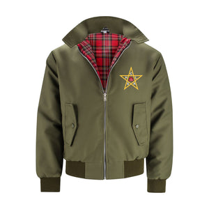 The Clash Harrington Jacket Olive