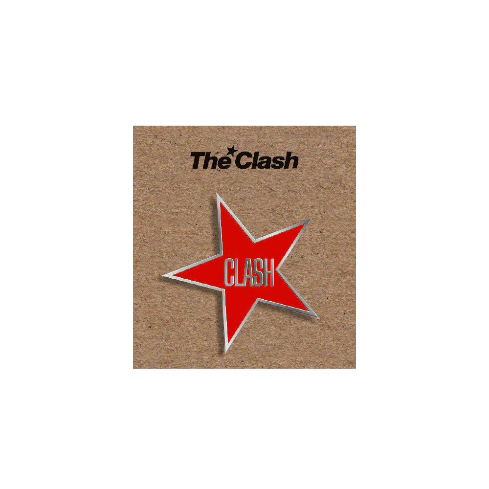 Red Star Enamel Badge