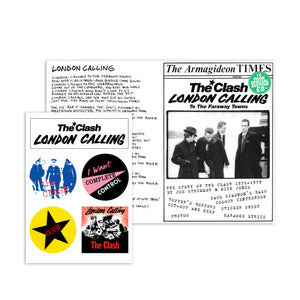 The Clash A5 Fanzine
