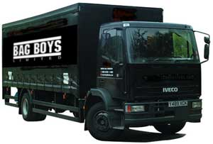 Bag Boys Delivery Truck