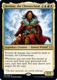 Sevinne, the Chronoclasm (Commander 2019) [Oversize Cards] | Nerd Geek U