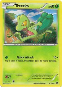 Treecko - 6/160 (Sheen Holo) (6/160) [Miscellaneous Cards & Products] | Nerd Geek U