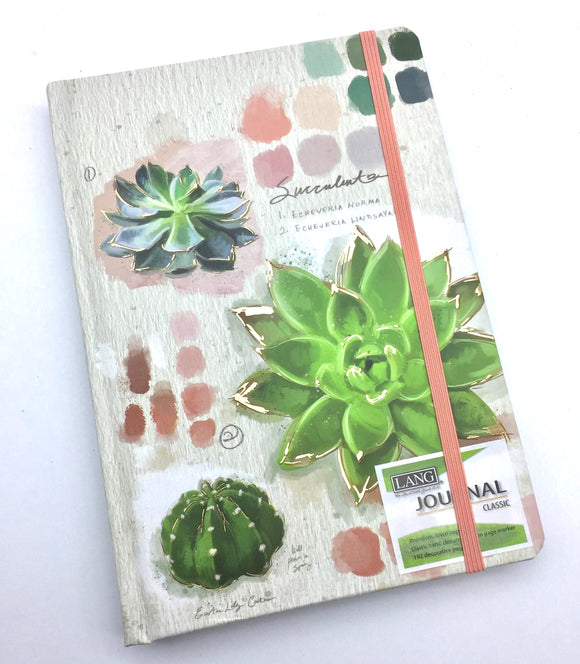 Lang Succulent Journal - Country Cottage Gifts