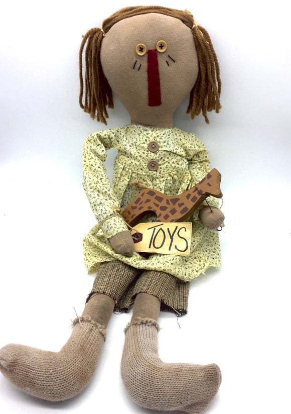 Emma Rag Doll - Country Cottage Gifts