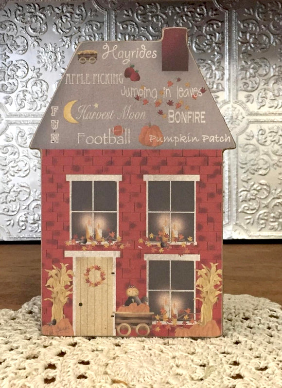 Autumn Days 2D house - Country Cottage Gifts