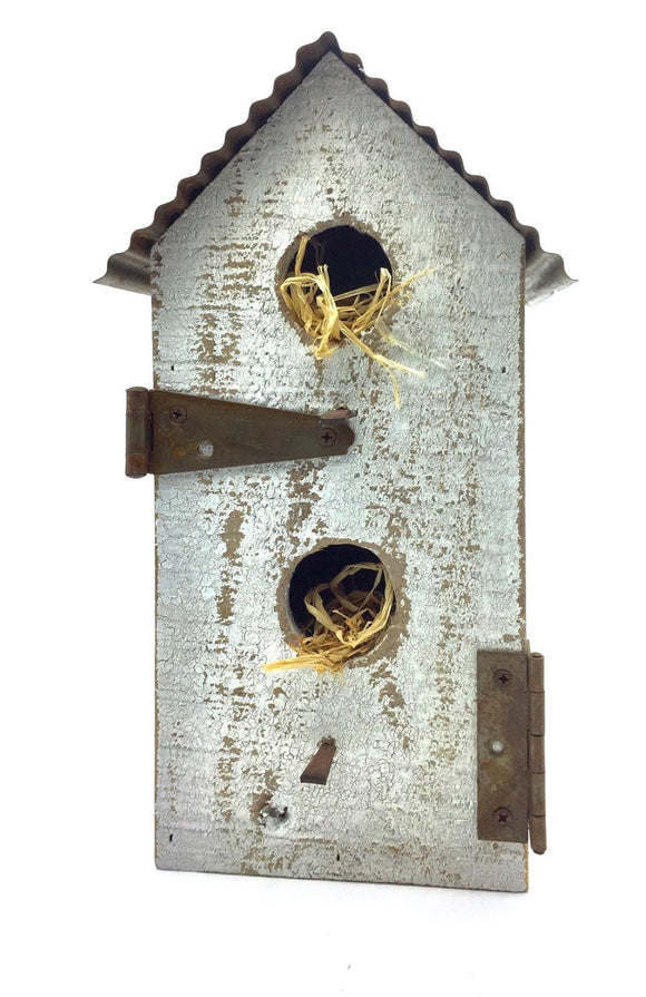 Shabby Chic Birdhouse (Large) - Country Cottage Gifts
