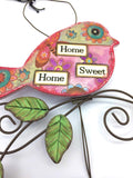 Funky Bird Sign - Country Cottage Gifts