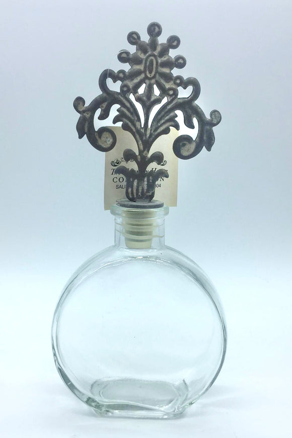 Bottle with Topper (round) - Country Cottage Gifts