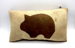 Primitive Pig Pillow - Country Cottage Gifts