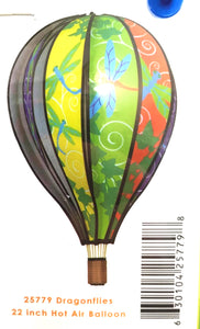 "22"" Dragonflies Hot Air Balloon - Country Cottage Gifts"