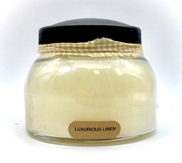Luxurious Linen Jar Candle - Country Cottage Gifts