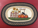 Crow & Pumpkins Rug - Country Cottage Gifts