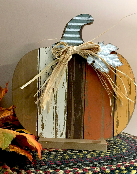 5 Color Pumpkin - Country Cottage Gifts