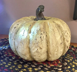Large Resin Pumpkin - Country Cottage Gifts
