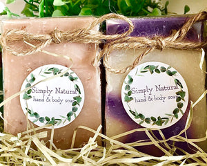 Simply Natural Soap - Country Cottage Gifts