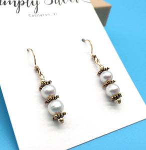 Simply Silver Earrings 18 - Country Cottage Gifts