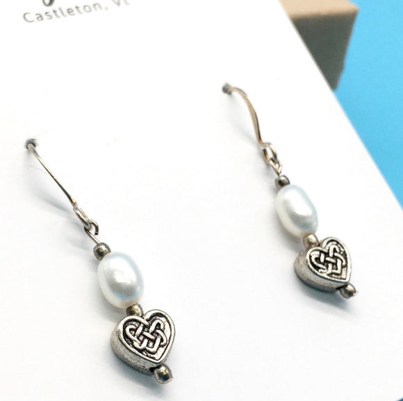 Simply Silver Earrings 17 - Country Cottage Gifts