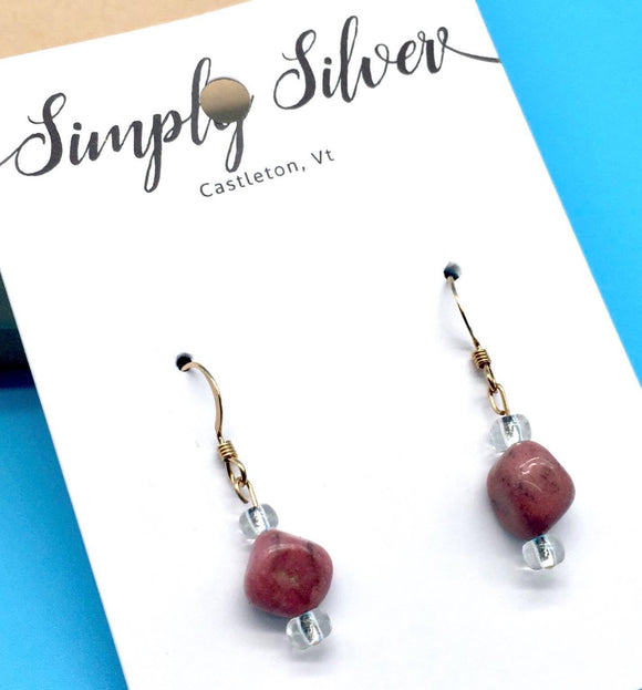 Simply Silver Earrings 2 - Country Cottage Gifts