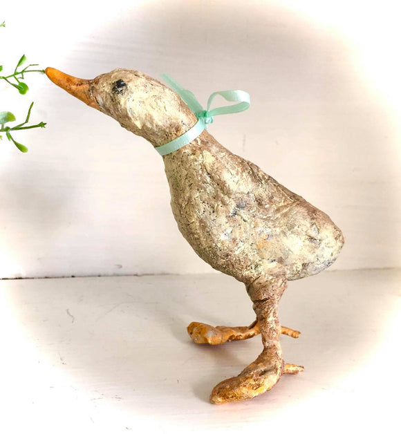 Spun Cotton/Clay Duck - Country Cottage Gifts