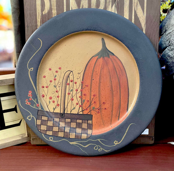 Decorative Pumpkin Tray